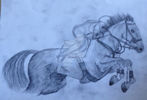 Horse Jumping by Yassy1