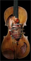 Violin by disintegration