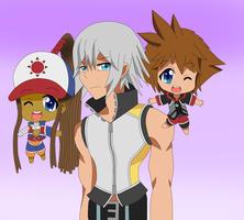 Riku, why so serious? by ParitSentiment