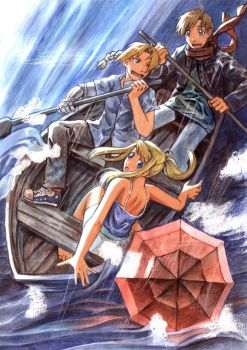 FMA: In the Storm by Aileine