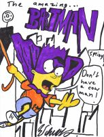 The amazing Bartman by ButtWiper