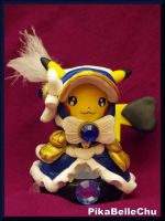 Custom Cosplay Belle Pikachu Amiibo by pikabellechu