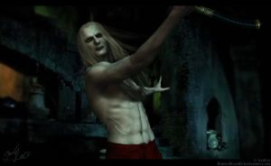 Prince Nuada - Maneuvers by GabbyLeithsceal