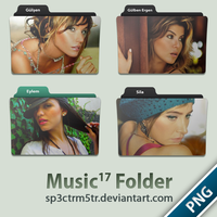 Music Folder 17 PNG by sp3ctrm5tr