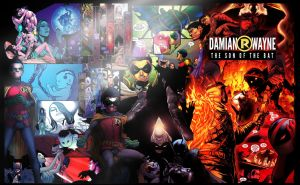 Damian Wayne: The Son of the Bat by taymerica