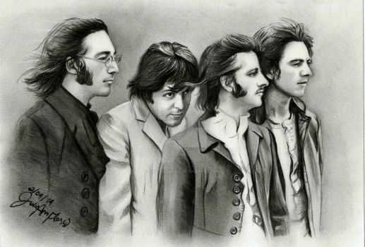 Beatles by JAF-Artwork