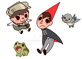 Otgw Sticker Set :FOR SALE: by LordBoop