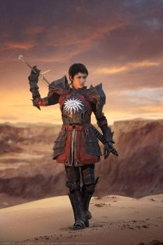 Cosplay Cassandra Pentaghast by HydraEvil