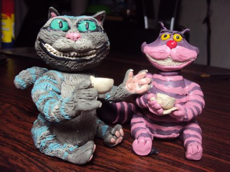 Cheshire cats by elias-baptista