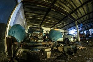Car Graveyard #1 by no-trespassing
