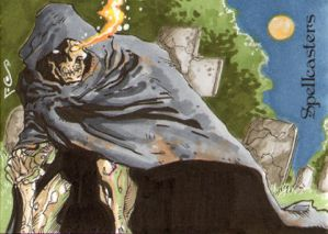 Spellcasters Sketch Card - Jason Sobol 3