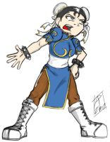 Halloween 2007 Rina+Chun-Li by Toug-2000