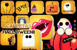 Carpetas/Folders Halloween by IrizGomez