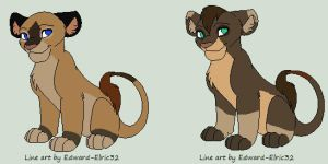 cubs for umbreonthepirate by axelsadoptables