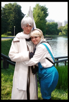Russia and Ukriane Cosplay by Hazel-Almonds