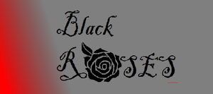 Black Roses group icon by DragonSongWolf