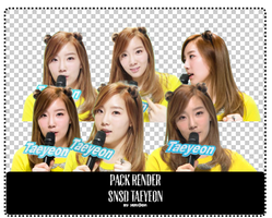 140109 [Pack Render] TaeYeon by YeRimoonlight