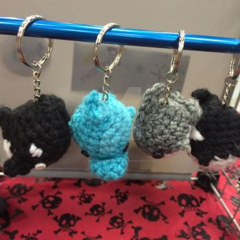 Free! ISC Key chains by KyouyasKritters