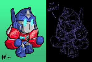 Optimus Livedraw by MattMoylan