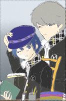 souji and Naoto by Cinnamon-Zimt