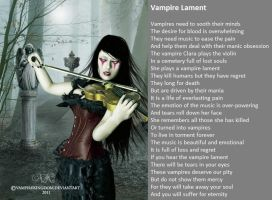 Vampire Lament by demonrobber