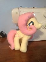 Fluttershy Plush (for sale) by The-Chaos-Controller