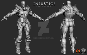 Deathstroke V by 3dMob