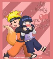 NaruHina: hinata, you are cute by nennisita1234