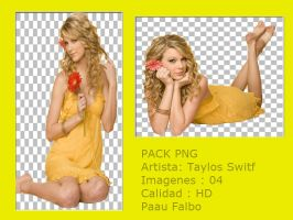 Taylor Switf PACK JPG&PNG Paau by PaauFalbo