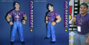 I'm an action figure by gioparedes