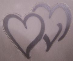 Tag1 - Two Silver Hearts by Gracies-Stock