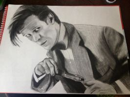 Eleventh Doctor by AggieNerd