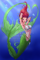 Ariel the grown up mermaid by chocolatecherry