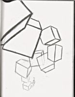 Perspective Study: Boxes by BonnieWild