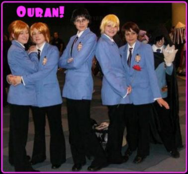 Ouran at Fan Expo by SILLY-DISCO