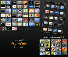 """Frame'em"" Icon package by Megert"