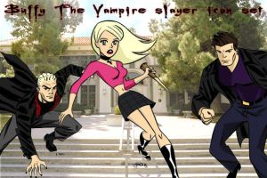 BTVS animated series by Ancientguardian