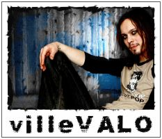 Ville Valo Print by GlamourBoy
