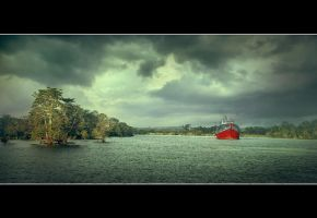 On Siak River by apipro