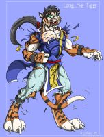 Long the tiger commission by Black-rat