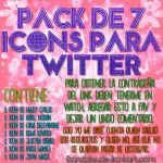 +Pack de Icons para Twitter by danalol16