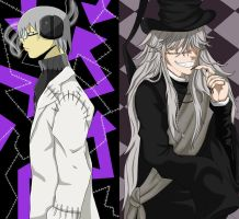 Collab: Stein and Undertaker by angelbelievers