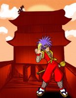 Commission- Ganbare Goemon by richardbrady