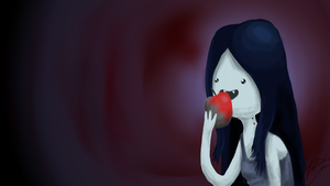 Marceline Wallpaper by MidoriFlygon