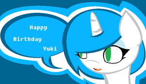 Happy Birthday Yuki! by IIbukiMioda