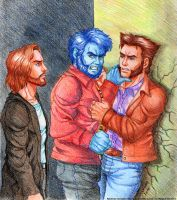 X-men-We will be best friend by syren007