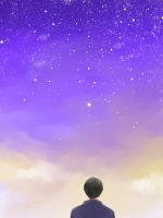 [APH - Japan] Looking for you in the sky...(?) by namioki-chan