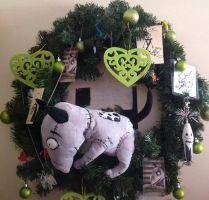 My Tim Burton wreath by SamApeace