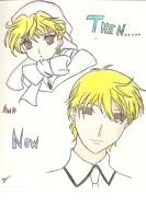 Then and Now momiji- colored by Michi1223