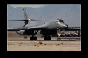 B-1 Departure Roll by jdmimages